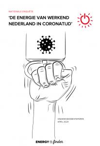 Nationale enquete naar de energie van werkend Nederland - in coronatijd - onderzoekswhitepaper - cover